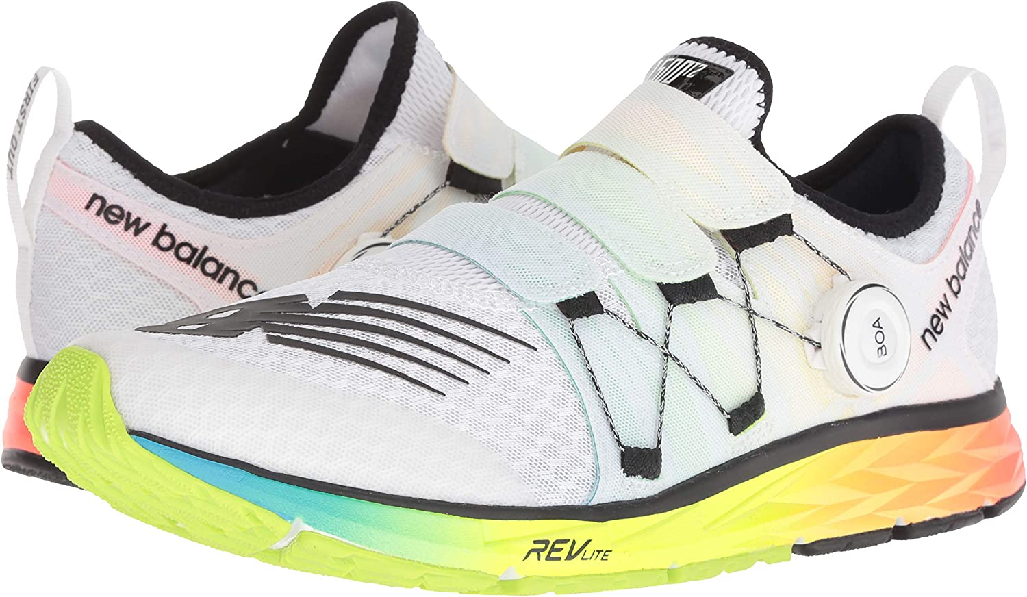 New Balance 1500v4 Boa, Zapatillas de Running Hombre, Blanco (White/Multicolor Wm4), 40 EU: Amazon.es: Zapatos y complementos