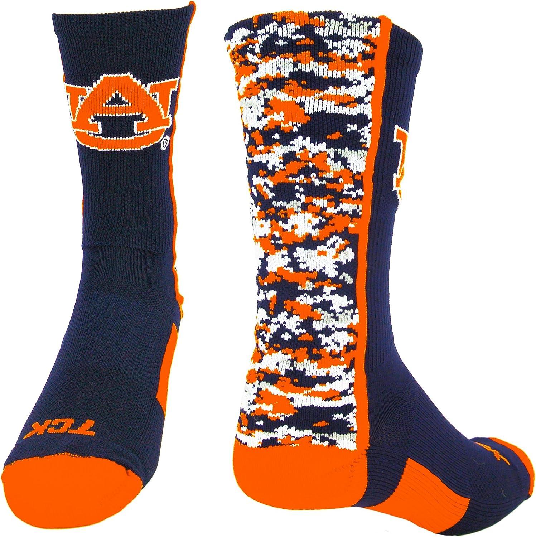 Auburn Tigers Socks Digital Camo