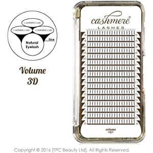 2ae0791394d Cashmere Lashes® | Ellipse Flat Pre made Russian Fan Lashes | 3D 0.10 C D  Curl