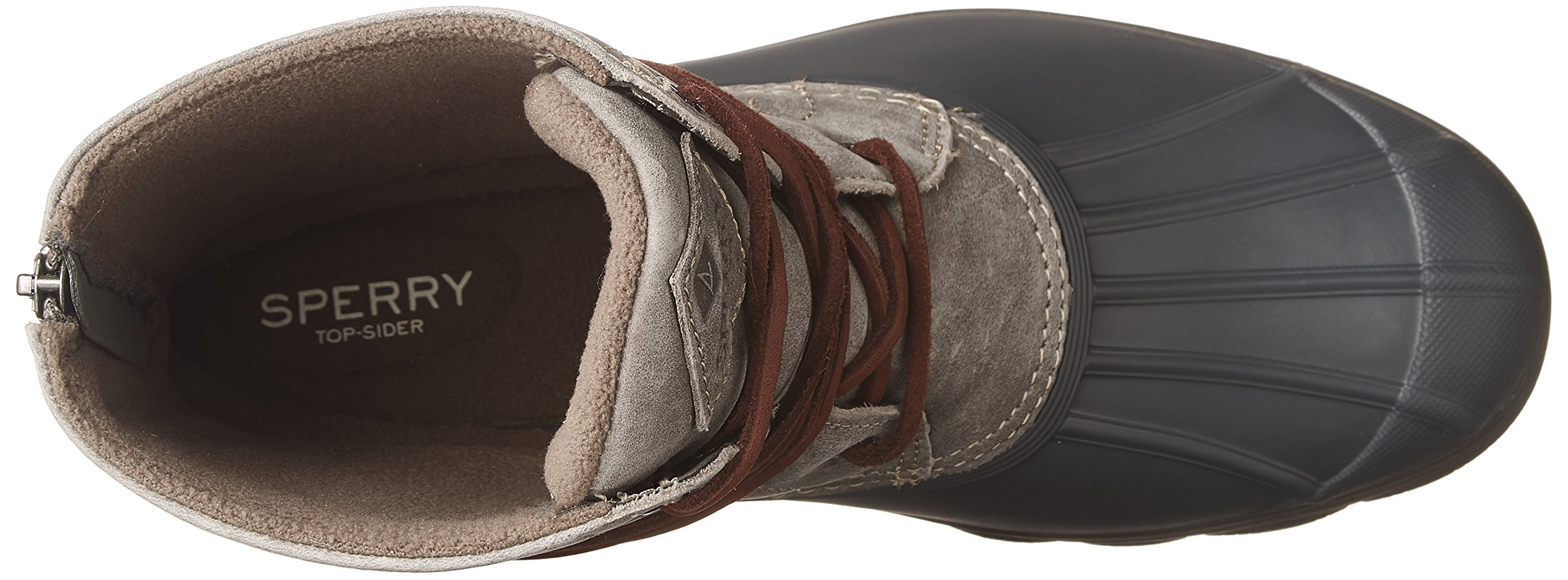 Sperry Top-Sider Women's Saltwater Wedge Tide Rain Boot, Grey, 8 Medium US by Sperry Top-Sider (Image #8)