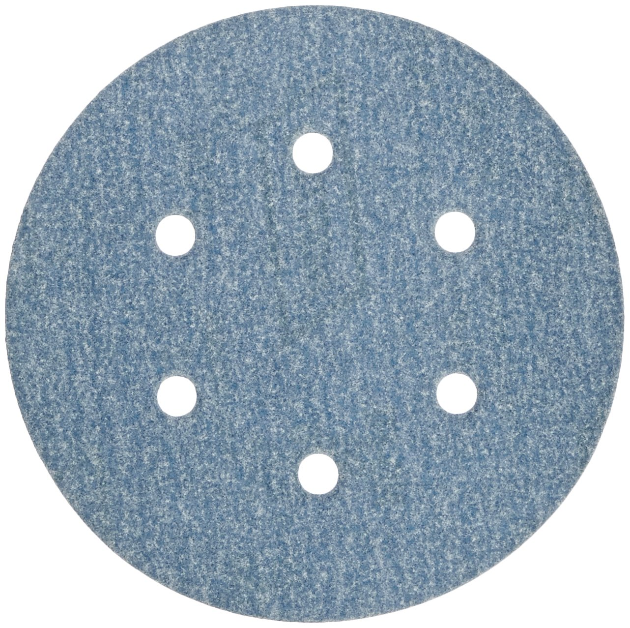 "Norton 3X High Performance Hook and Sand Paper Discs with 6 Hole, Ceramic Alumina, 6"" Diameter, Grit P150 Fine (Pack of 10)"