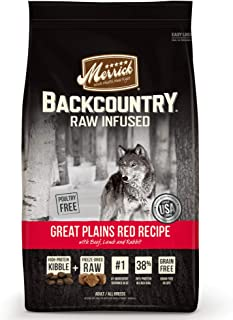 product image for Merrick Backcountry Raw Infused Great Plains Red Meat Dry Dog Food