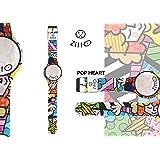 Orologio ZITTO piccolo a led con cinturino in silicone Limited Edition POPHEART P
