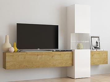 Wohnwand Wohnzimmerschrank Fernsehschrank Mediawand Tv Schrank
