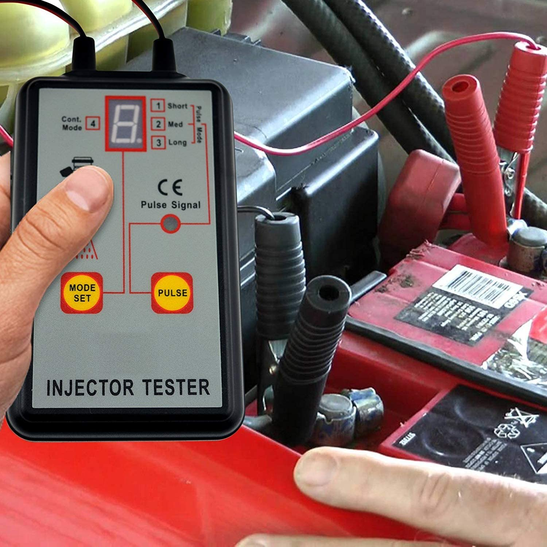 OKA life Oka Vie Automotive Injecteur testeur 4/Modes Pluse Puissant Syst/ème de Carburant 12/V Scan Tool
