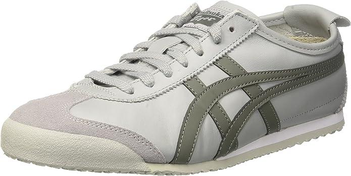 Asics Mexico 66 Sneakers Damen Herren Unisex Größe 36 – 48 Grau/Agavengrün