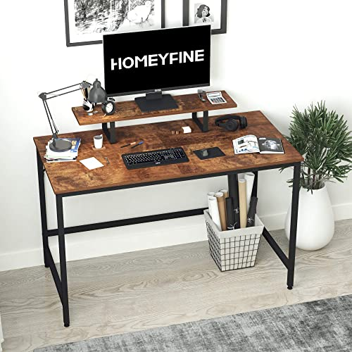 HOMEYFINE Computer Desk,Laptop Table