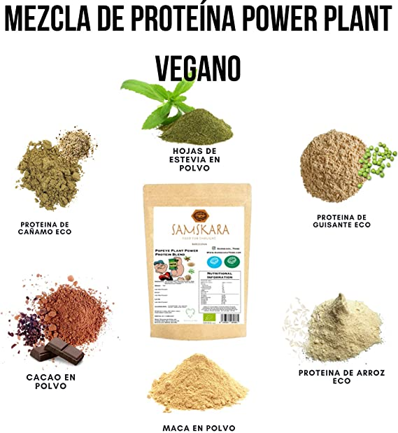 Mezcla Proteína de Planta | de cultivo Ecológica BIO | 69 ...