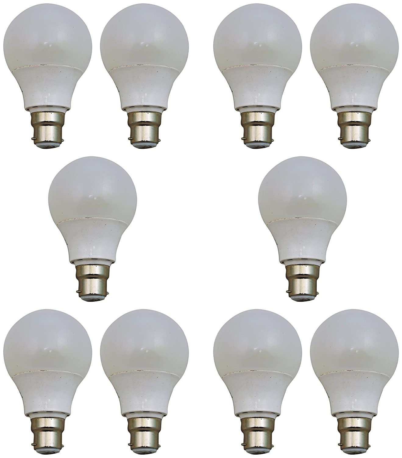 Imax Led 3W B22 LED Bulb (Pack of 10, Cool..