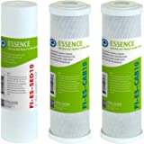 APEC Water Systems FILTER-SET-ES High Capacity Replacement Pre-Filter Set For Essence Series Reverse Osmosis Water…