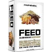 Nutrabolics Feed Protein Bar Salted Caramel Pecan, 12 Bars 900 Gram