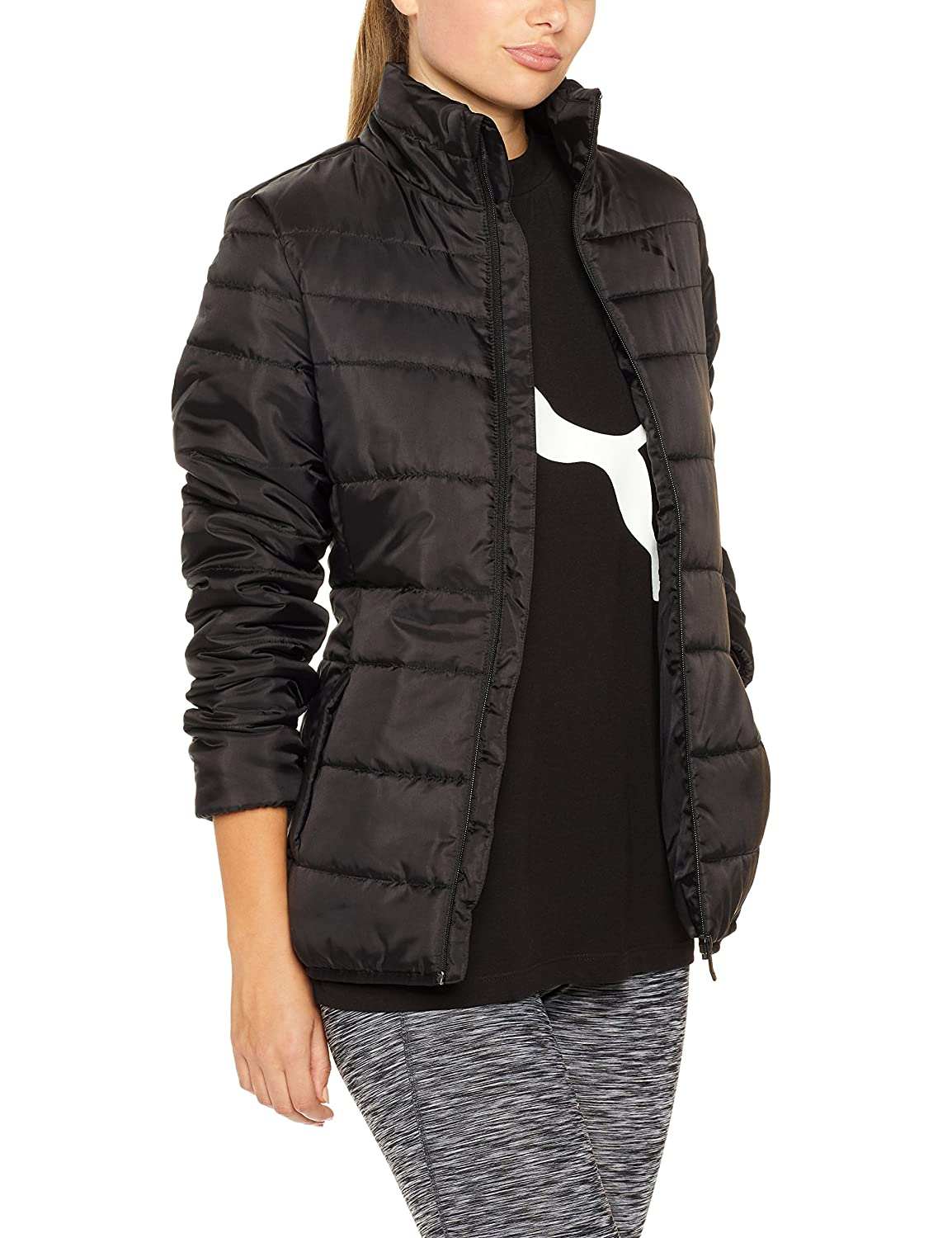 ea1fd6a10ae PUMA Women's Essentials Padded Jacket Black (Puma Black),XS: Amazon.com.au:  Fashion