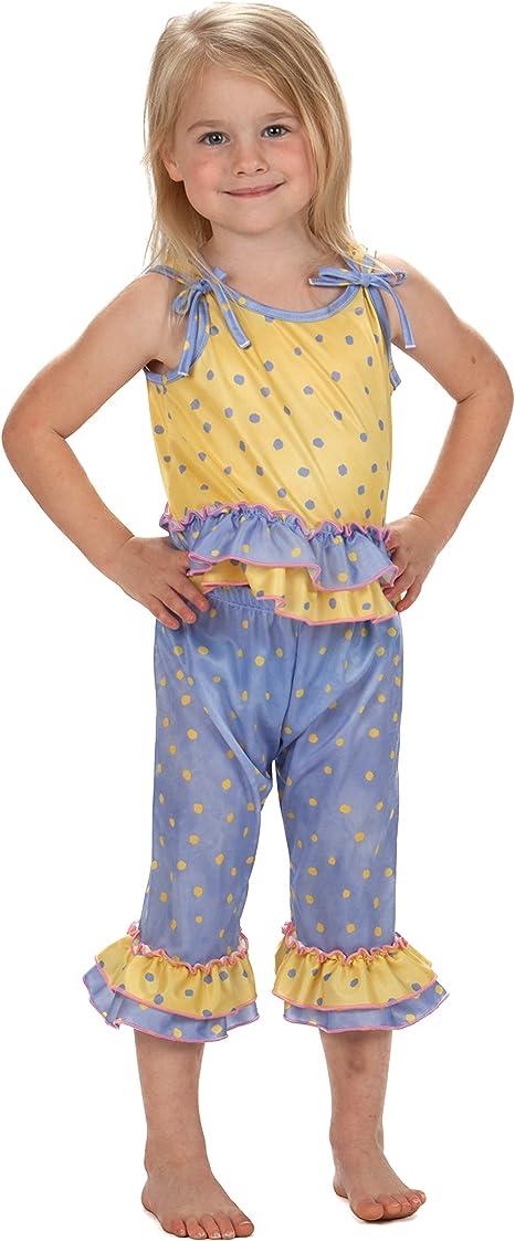 Laura Dare Little Girls Buttercup Racerback PJ Short Set