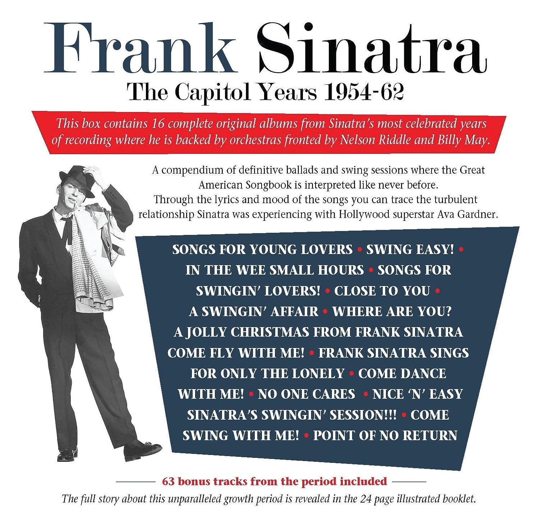 Frank Sinatra The Capitol Years 1953 62 Amazon Com Music