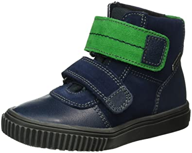 b6cac5c59ac653 Richter Kinderschuhe Jungen Sprint High-Top Blau (atlantic grass 7201) 27 EU
