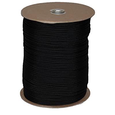 T.W Evans Cordage 6510B para Cord 1000-Feet Spool, Black - Ropes - .com