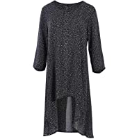 Bird Keepers Womens Blouses The Printed Popover Top BlackSpot - Tops