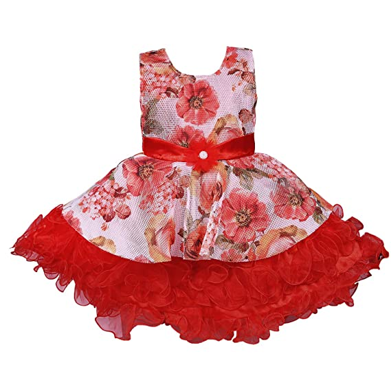 ffe8121f3ae86 Wish Karo Baby Girls Party Wear Frock Dress - Net - (fe2639): Amazon ...