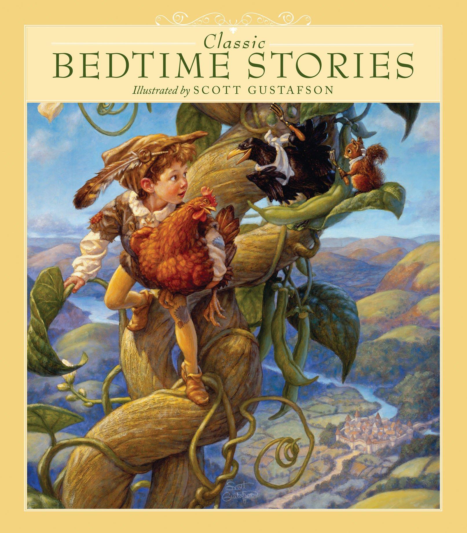 Uncategorized Traditional Bedtime Stories classic bedtime stories scott gustafson 9780867131581 amazon com books
