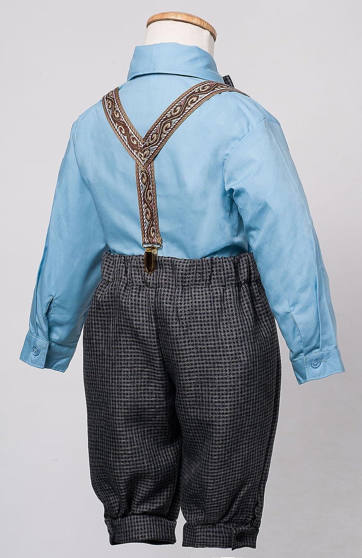 Luca Gabriel Vintage Baby Boys Toddlers Houndstooth Knicker Sling Set