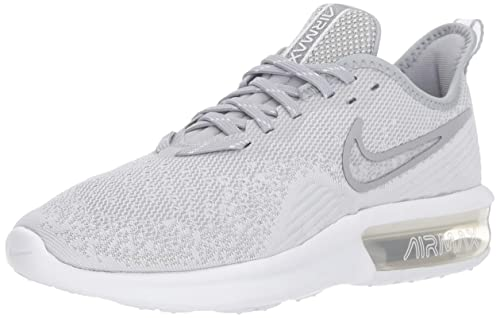 Nike Damen WMNS Air Max Sequent 4 Fitnessschuhe, Weiß