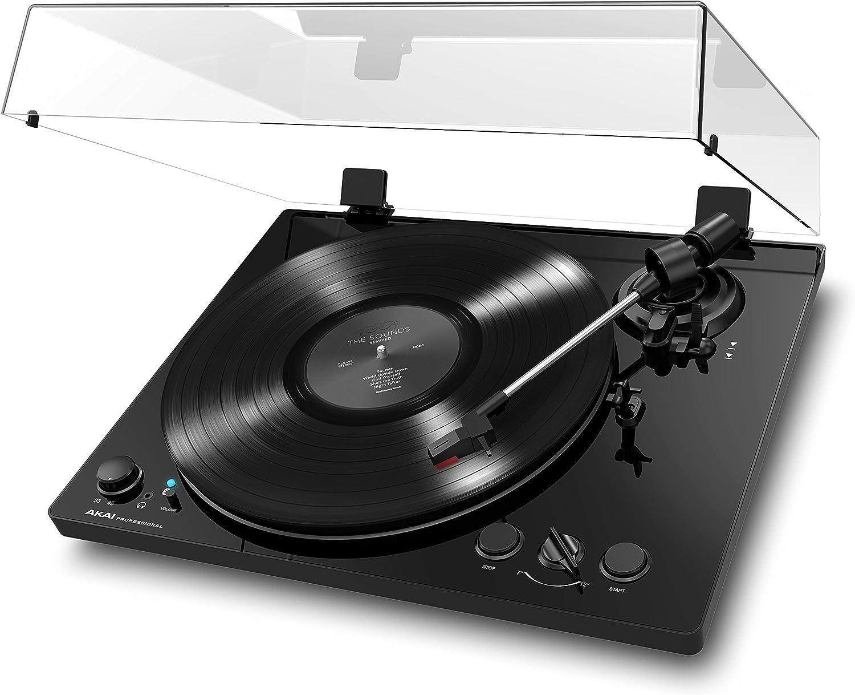 Akai Pro BT100 - Tocadiscos de correa con transmisión audio a ...