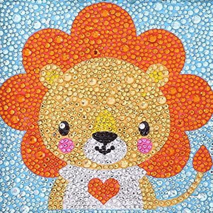 VVEEWUU Painting/by/Number/Kits/for/Kids/5D/Diamond/Painting/Full/Drill/Diamond/Dotz/Kits/for/Children/Gifts