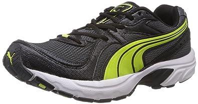 7b2a817c4c6166 Puma Men s Kuris II Black Mesh Sport Running Shoes - 6 UK India (39 ...