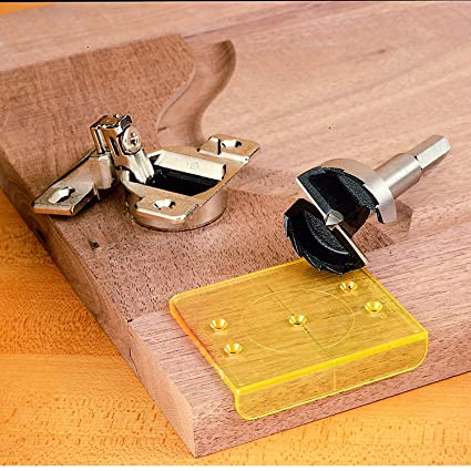 Drillrite 35mm Hinge Jig And Bit Construction Marking Tools