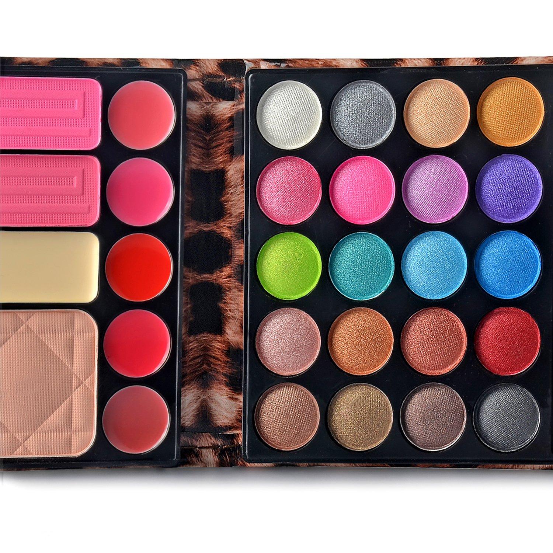 Amazon Ecvtop Professional Makeup Kit Eyeshadow Palette Lip
