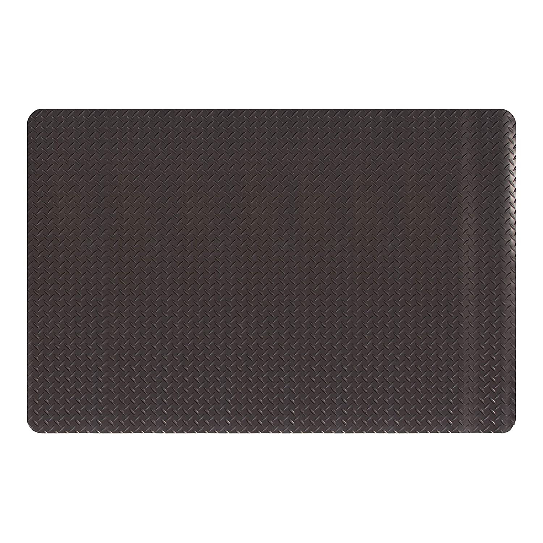 Amazon Basics Anti-Fatigue Mat Diamond Deckplate Composite Mat 9/16