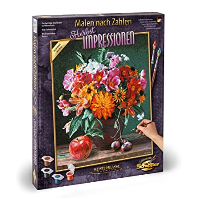 "Schipper 609130778"" Autumn Impressions Painting by Number: Toys & Games"