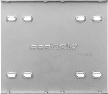 Kingston 891535 - Kit de Montaje para Disco Duro sólido SSD, Plata ...