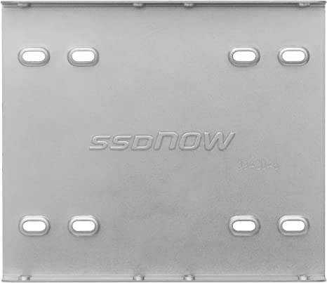 Kingston 891535 - Kit de Montaje para Disco Duro sólido SSD, Plata ...