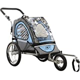 Cycle Force C12 Single Child 2-In-1 Bicycle Trailer & Jogger