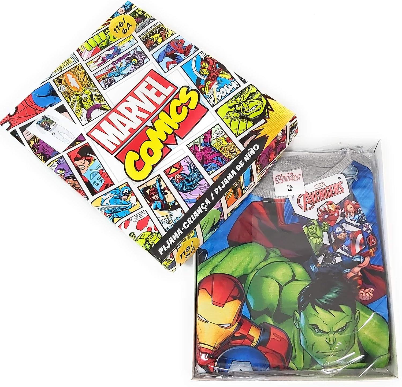 Pigiama Avengers Marvel Interlock Pigiama Avengers a maniche lunghe per bambini