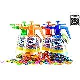 Wasserbomben Wasserballonpumpe, 3 fach sortiert, inklusive Ballons