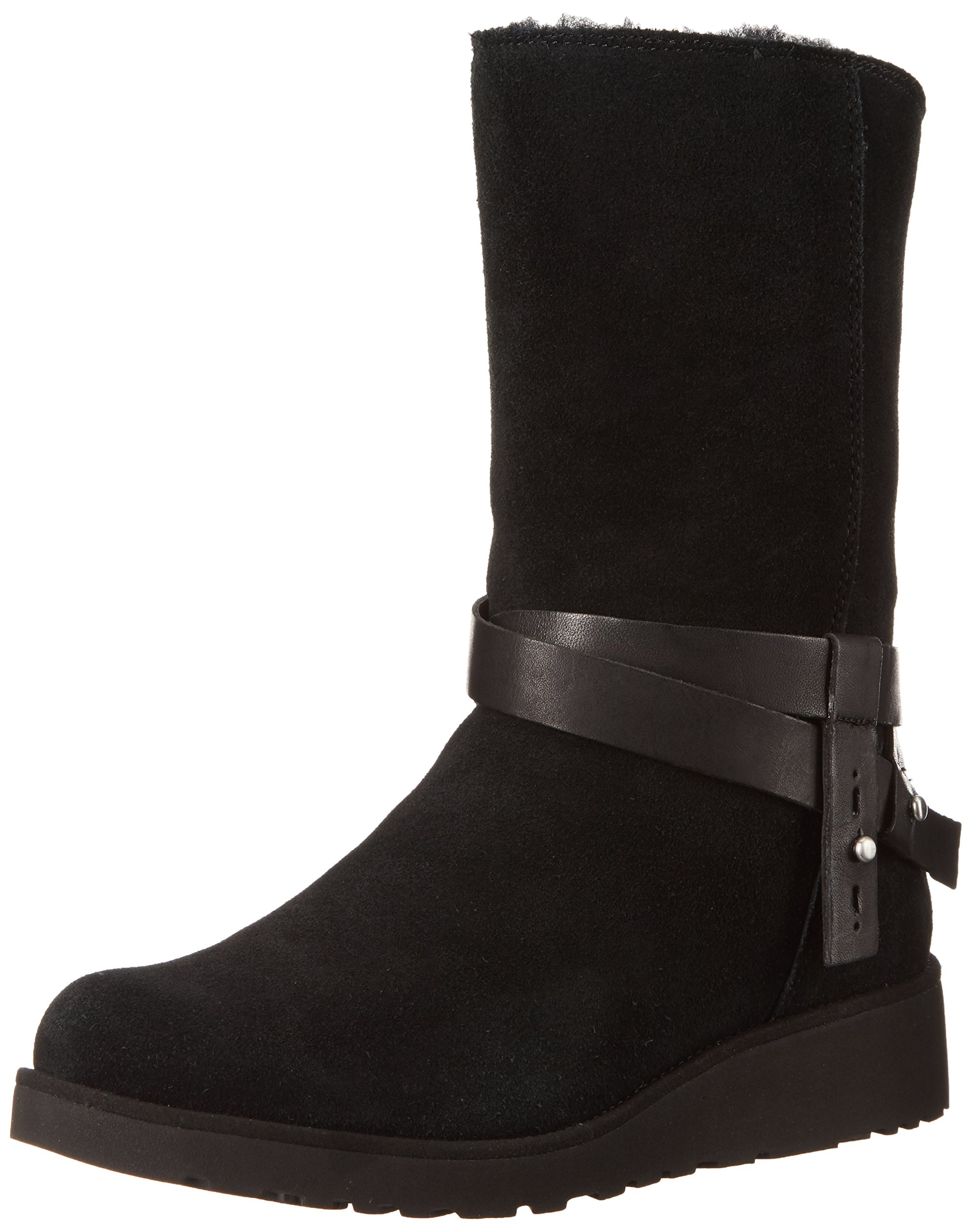UGG Women's Aysel Winter Boot, Black, 12 M US