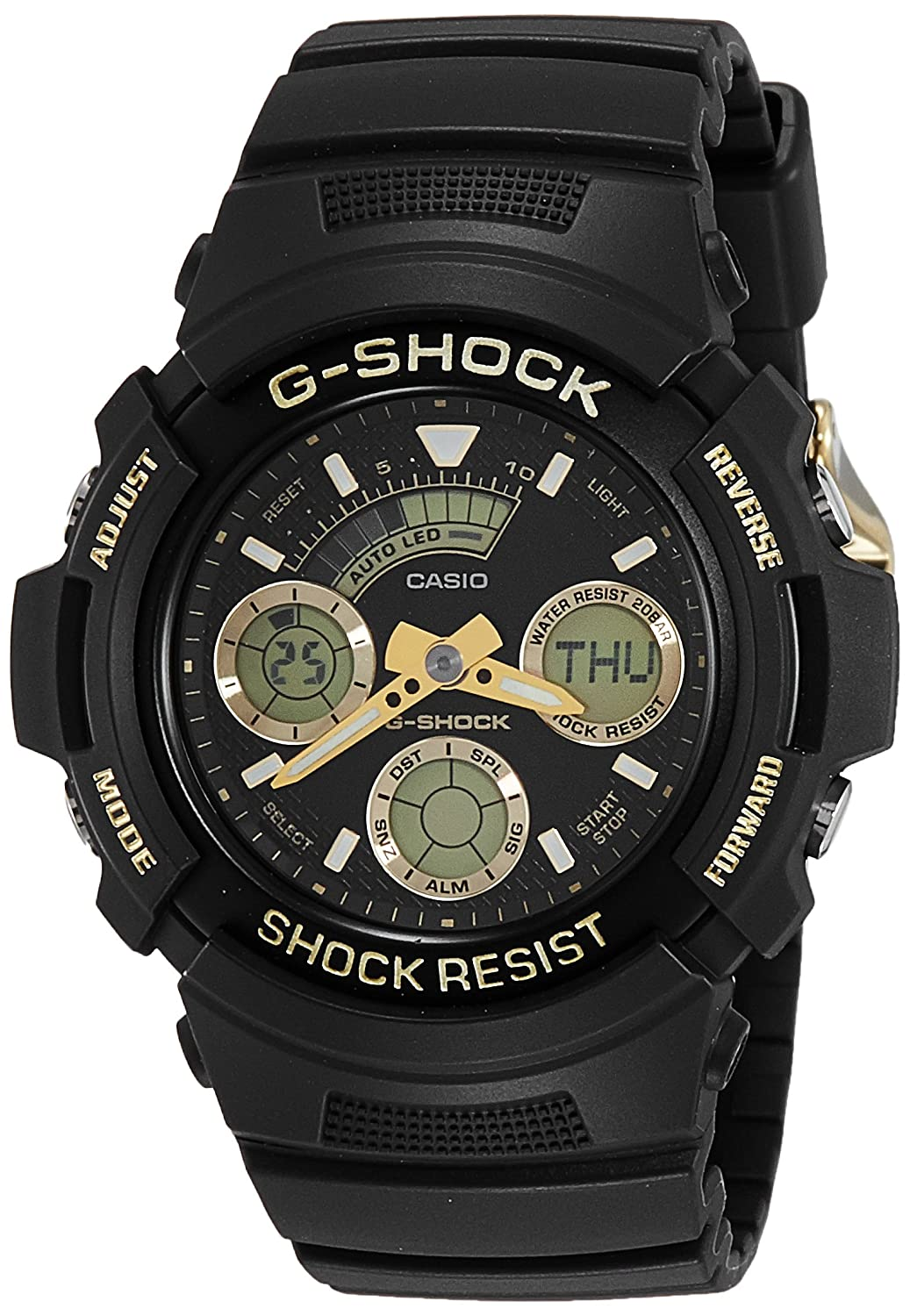 35c89fb89fd1 Buy Casio G-Shock Analog-Digital Black Dial Men s Watch - G776 (AW-591GBX-1A9DR)  Online at Low Prices in India - Amazon.in