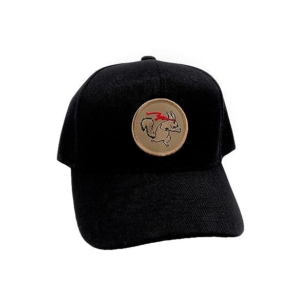 Amazon.com: Ninja Ardilla Sombrero. adjustable-back bola PAC ...