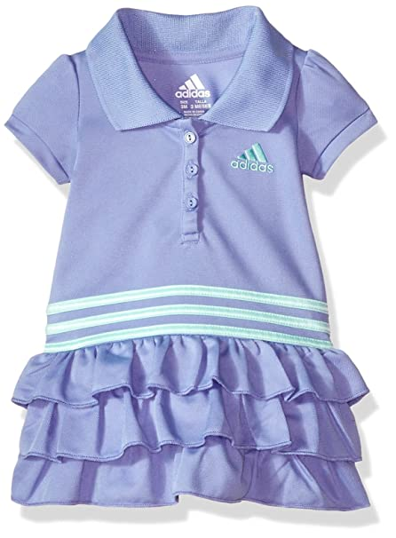 Amazon Com Adidas Baby Girls Active Polo Dress Clothing