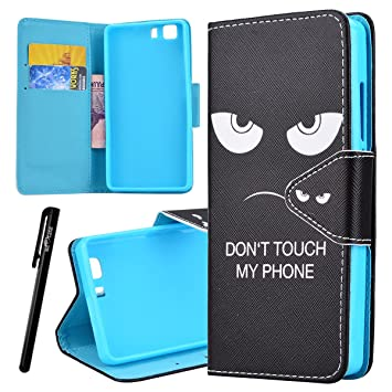 Doogee X5 Carcasa , Doogee X5 Pro Funda , We Love Case Funda PU Piel para Doogee X5 / X5 Pro Cuero Resistente Cierre Magnético Leather Wallet Flip ...