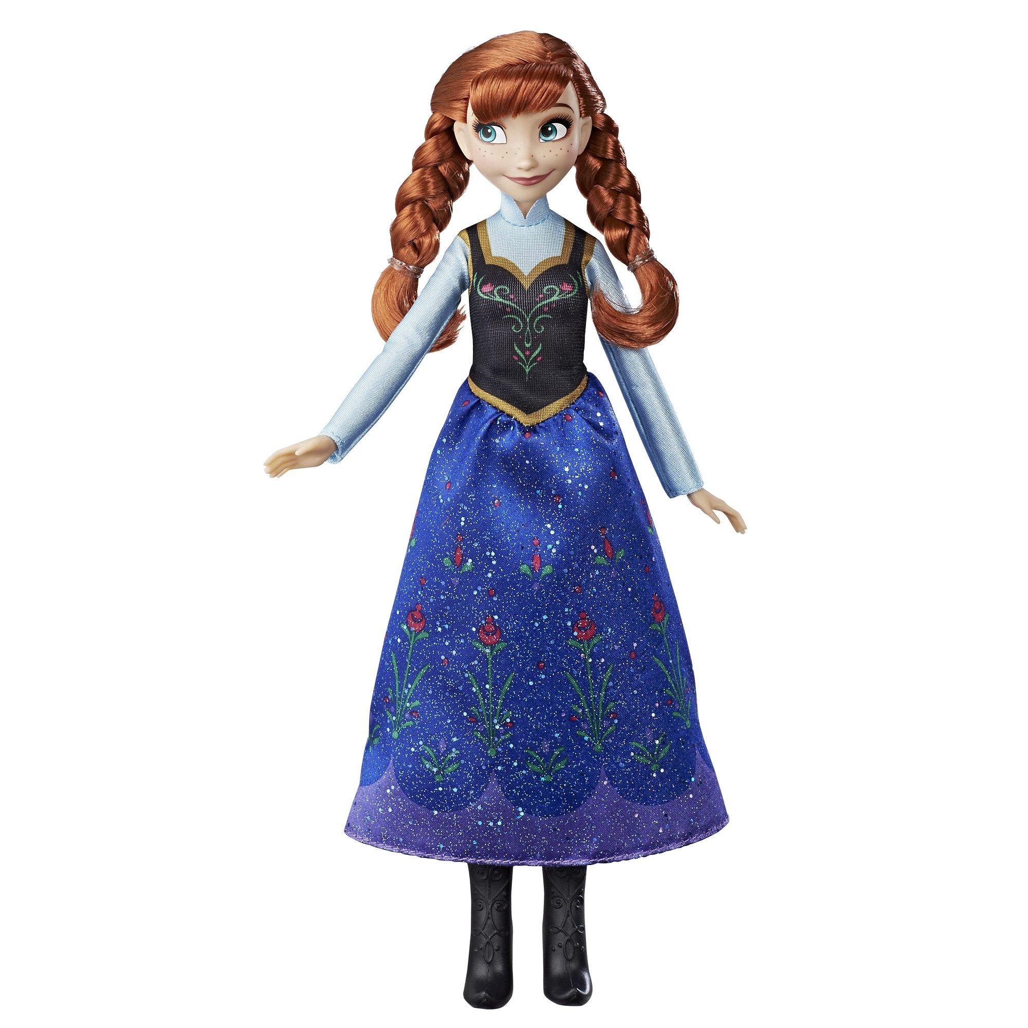 Precise Disney Frozen Anna Doll With Free Elsa Fragrant Aroma Dolls & Bears Disney
