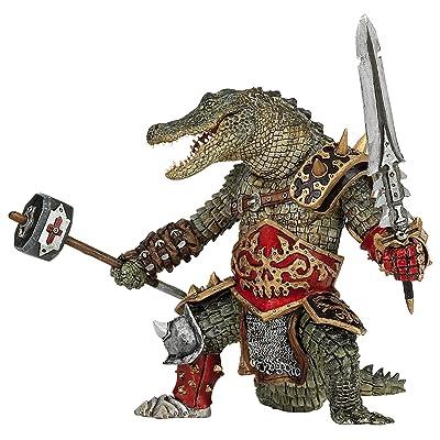 Papo Fantasy World Figure, Crocodile Mutant: Toys & Games