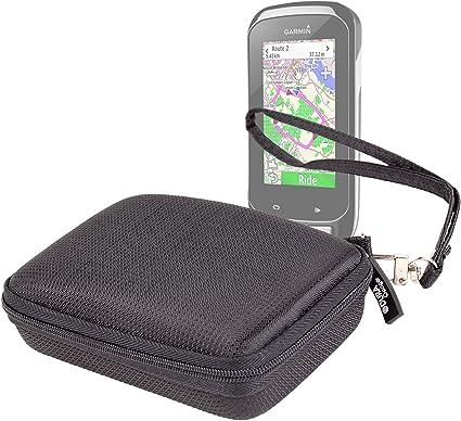 DURAGADGET Funda Rígida Negra con Cuerda De Quita Y Pon para Navegador GPS Garmin Edge 1000: Amazon.es: Electrónica