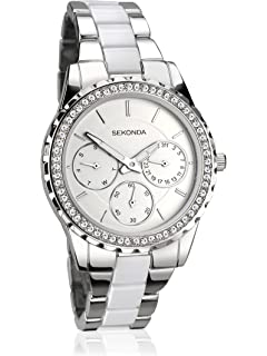 84983238dcb0 Sekonda Women s Quartz Watch with Mother of Pearl Dial Analogue ...
