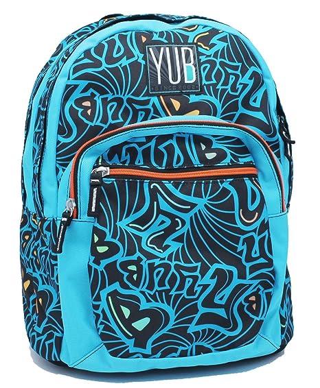 787e69b5fa Zaino Format Azzurro Murales Boy Yub Seven: Amazon.it: Valigeria