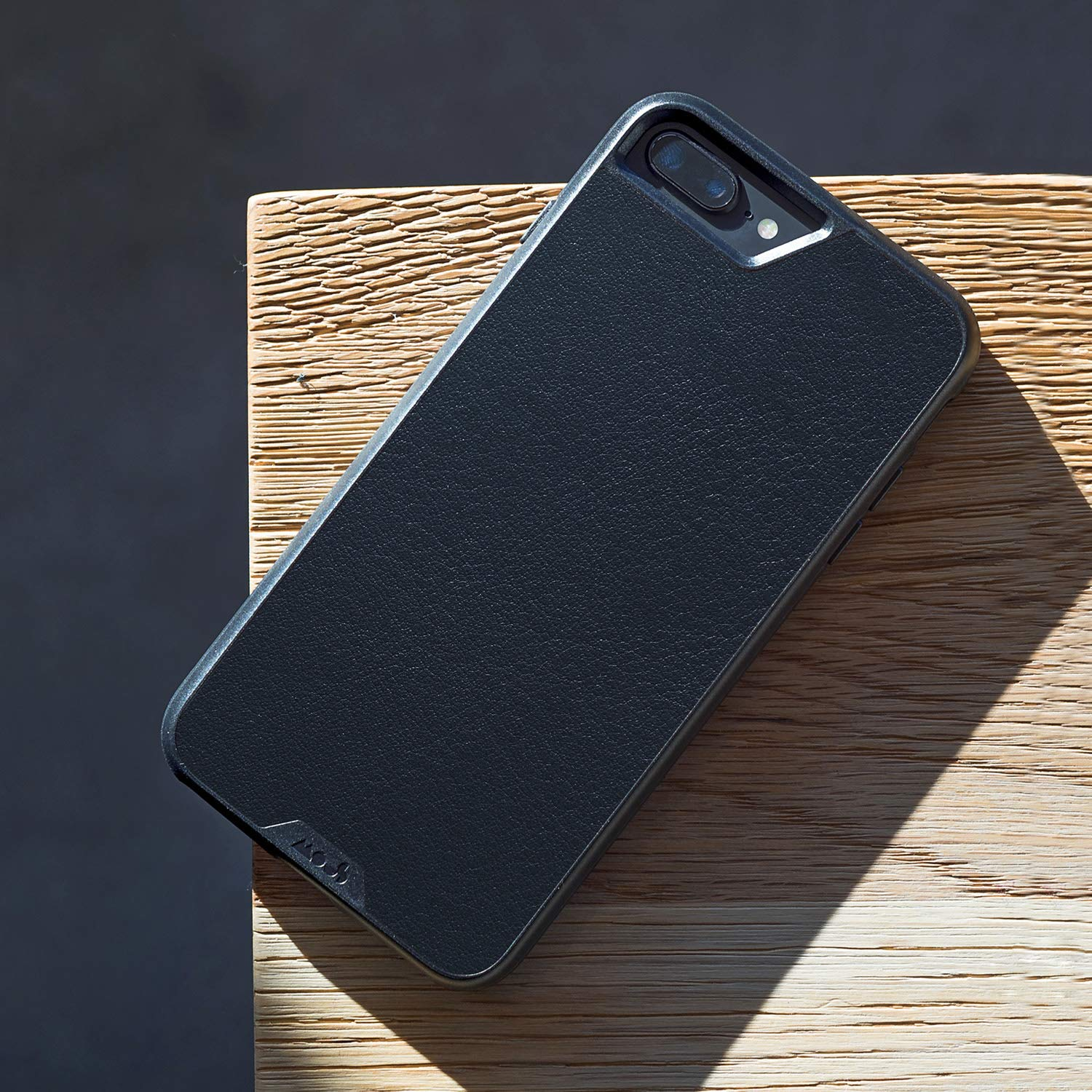 Mous Protective iPhone Case 8+/7+/6s+/6+ Plus - Black Leather - Limitless 2.0 by MOUS (Image #5)
