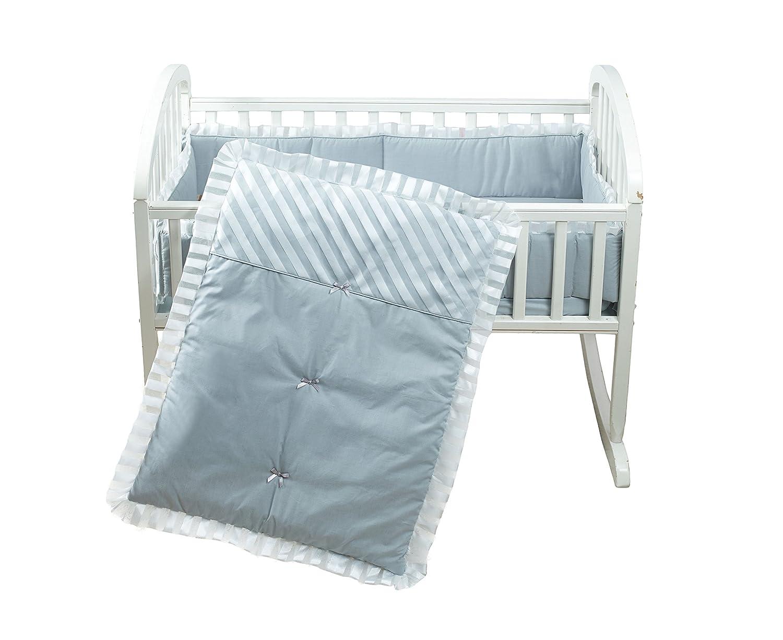 Baby Doll Candyland Cradle Bedding Set Ecru Baby Doll Bedding 1300cr36-ecru