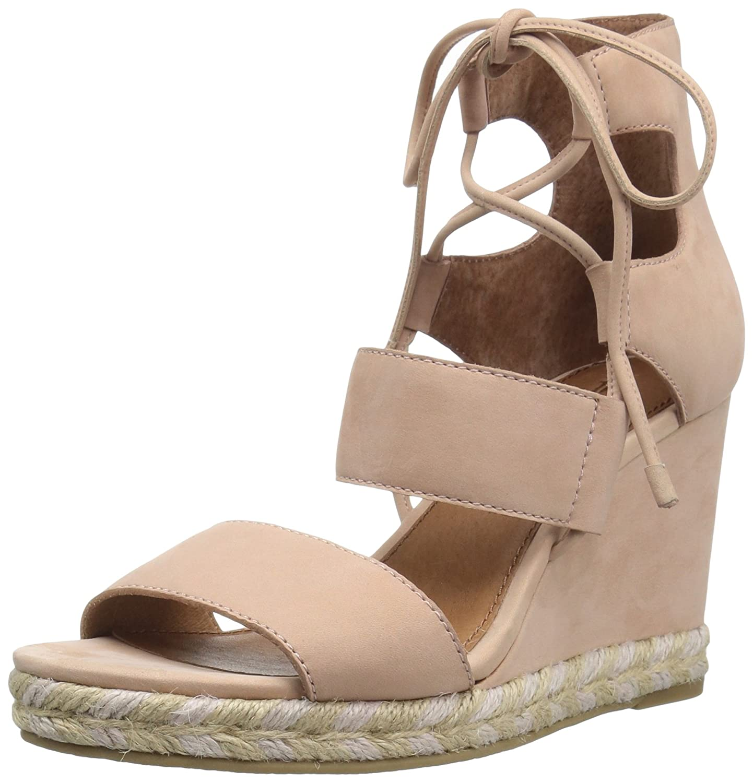 FRYE Women's Roberta Ghillie Wedge Sandal B01JZXNW7A 10 B(M) US|Blush